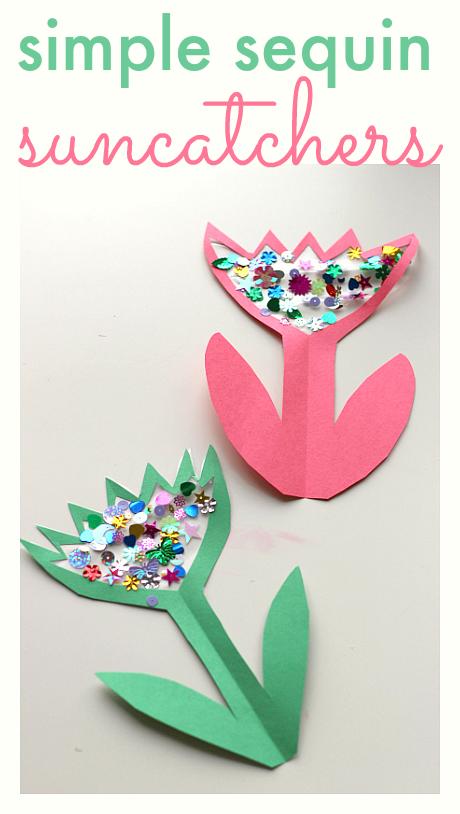 easy flower craft for kids