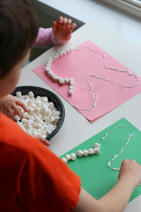 marshmallow crafts for easter
