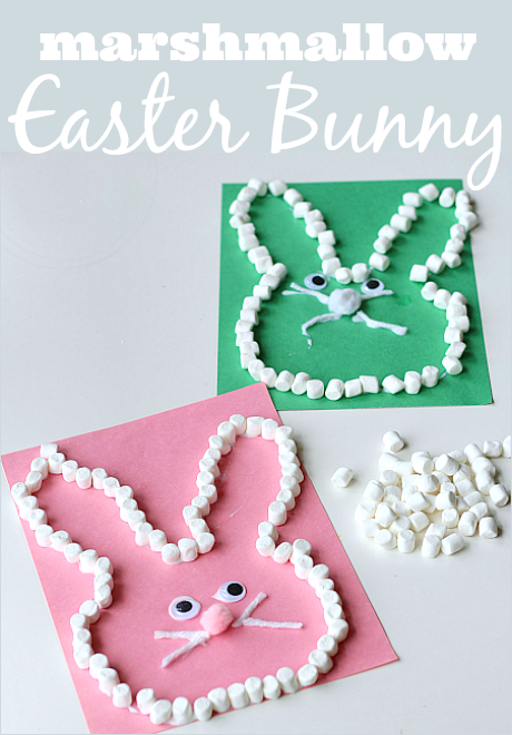 Marshmallow Easter Bunny Craft