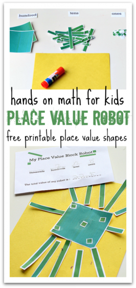 Place Value Robot – Math Activity