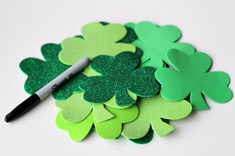 rhyming activity for st. patrick's day