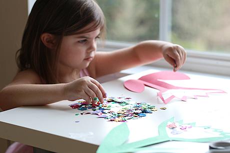 spring flower sun catcher craft for kids