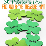 St.Patrick's Day Rhyming Game