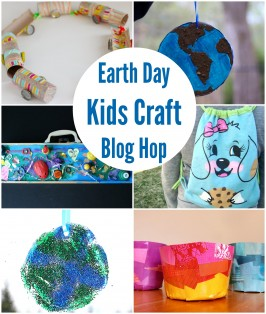 Simple Earth Suncatcher  – Earth Day Craft