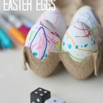Color By Number Easter Eggs