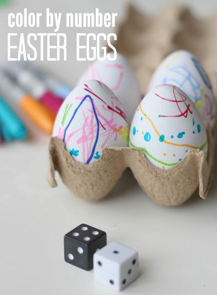 easter eggs game for kids