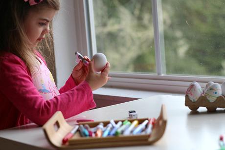 easter egg math game for little kids