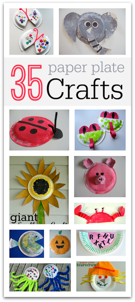 35 easy paper plate crafts no time for flash cards