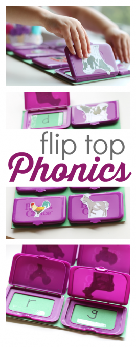 Flip Top Phonics Game For Kids