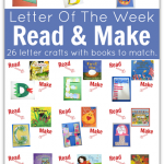 Read & Make : Letter Of The Week