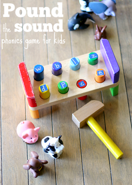 Phonics Game For Kids Pound The Sound No Time For