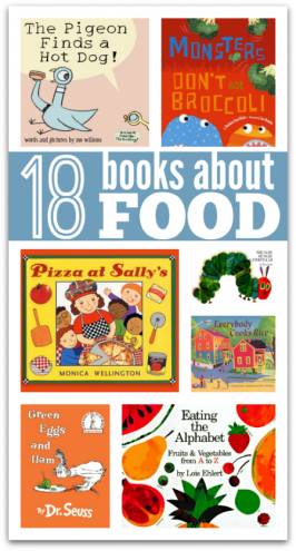 books about food for kids