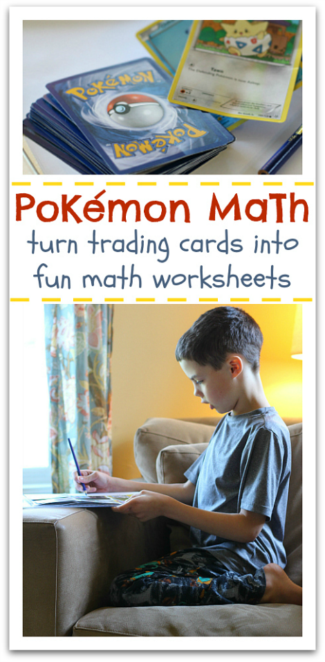 Pokemon Math - Learning After School - No Time For Flash Cards