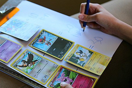 pokemon math sheet activity for kids