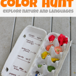 Color Hunt  – Exploring the World Around Us