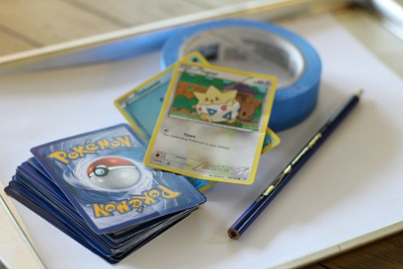 use pokemon cards for math