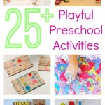 Playful Preschool ebook ON SALE NOW { 50% off! }