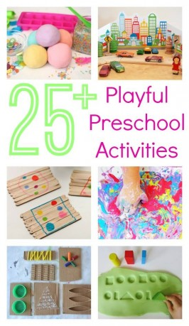 preschool activities ebook