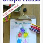 Shape Hunt Worksheet – FREE Printable