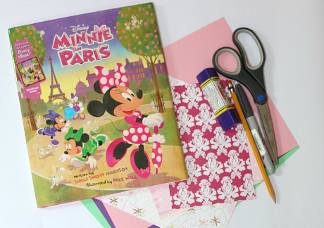 Minnie in Paris craft
