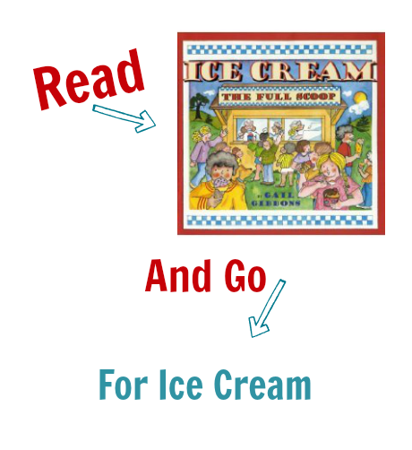 Read & Go Ice cream