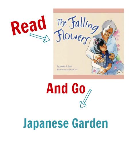 Read & Go Japanese Garden