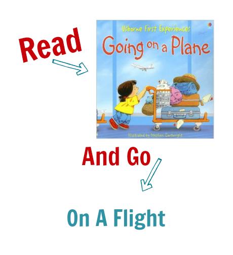 Read & Go Plane Ride
