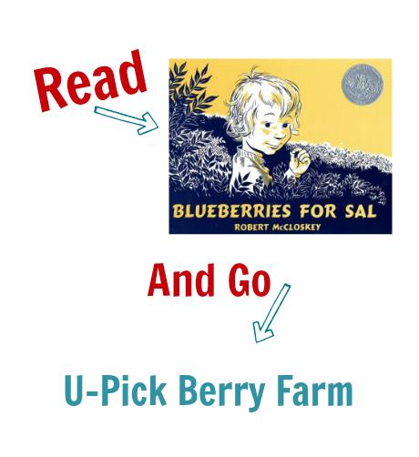 Read & Go U-Pick Blueberries