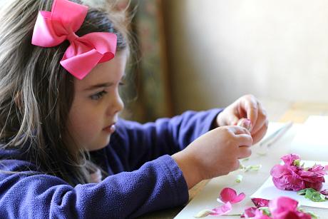 flower lab science for kids