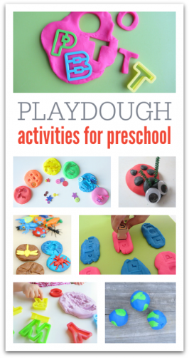 21 Playdough Activities