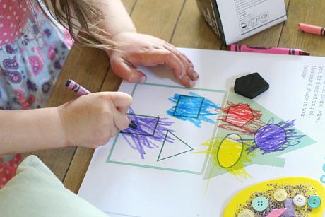 shape house shape hunt for kids
