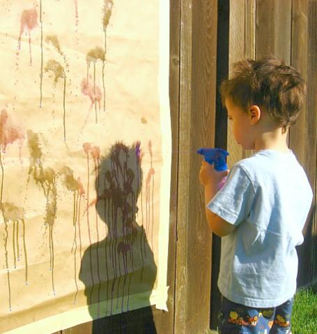 spray painting
