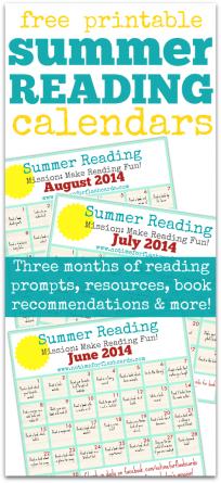summer reading ideas ofr kids