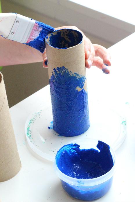 toilet roll fish craft for preschool