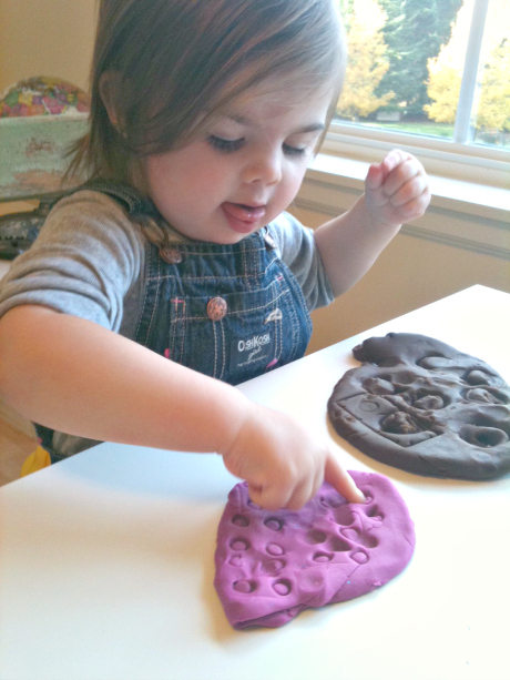 toy prints playdough