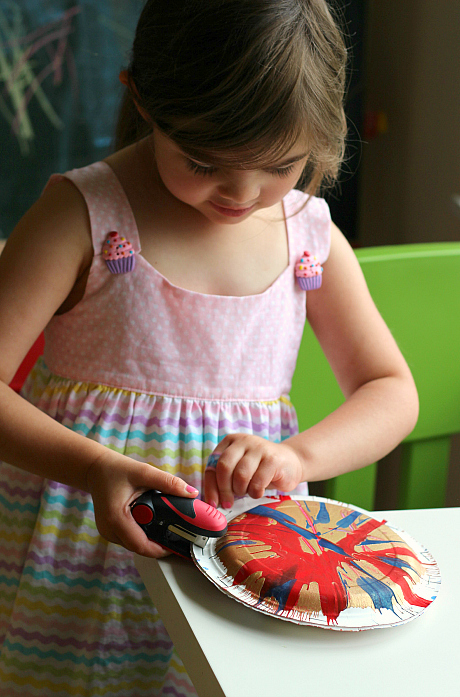 4th of july craft for kids noisemaker