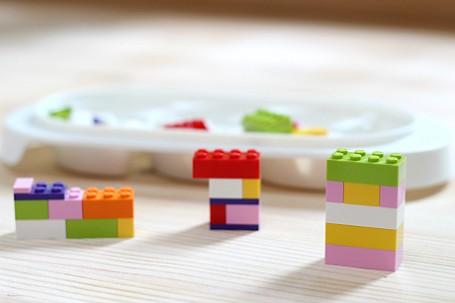 Lego challenge fine motor skills