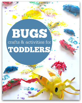 bug craft ideas for toddlers