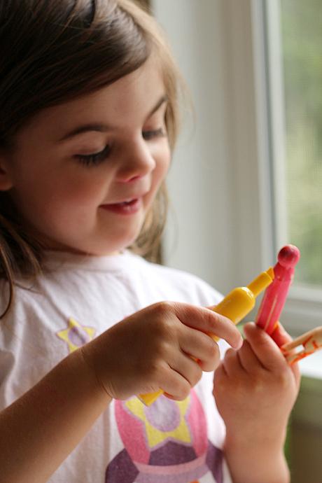 Preschool Caterpillar To Butterfly Craft