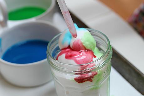 color lab shaving cream