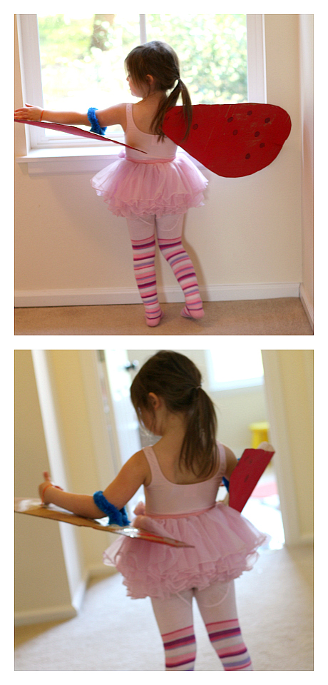 lady bug wings costumes for kids