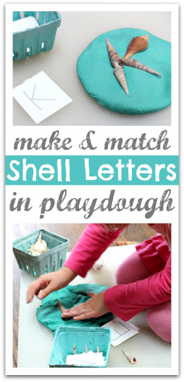Shell Letters – Alphabet Activity