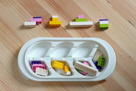 lego challenge for beginners preschool