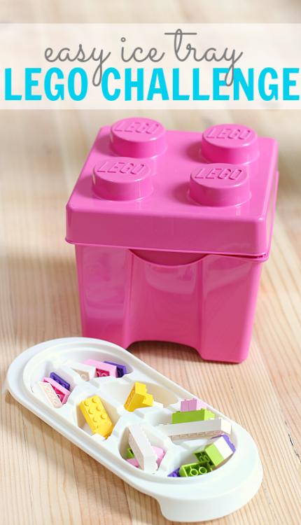 preschool lego challenge