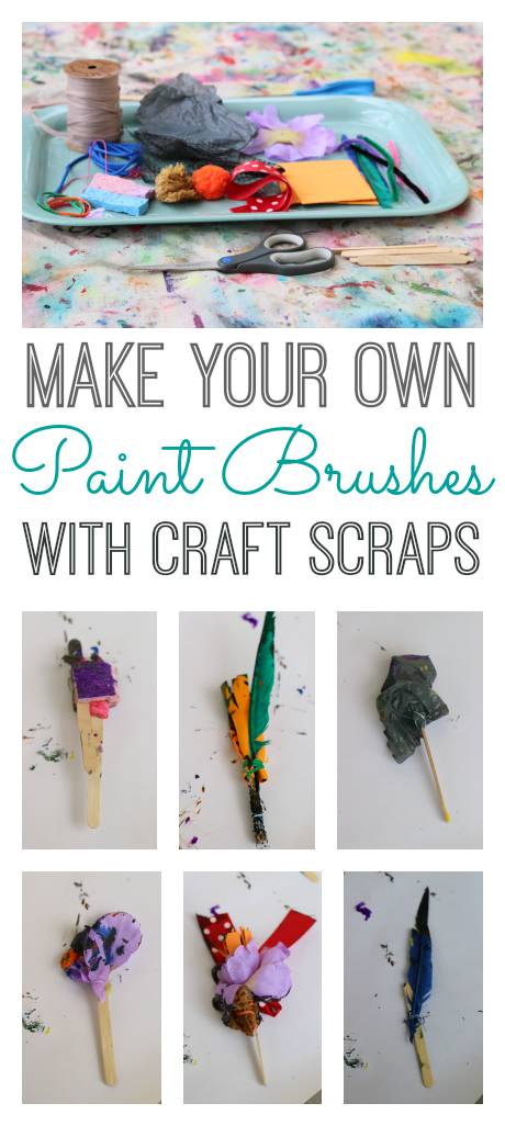 homemade paintbrushes