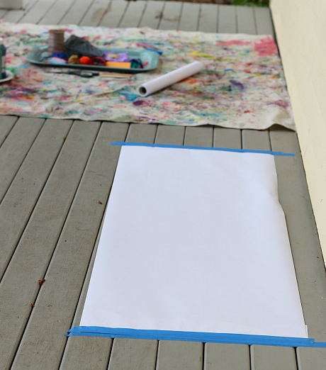 make your own paintbrushes kids craft