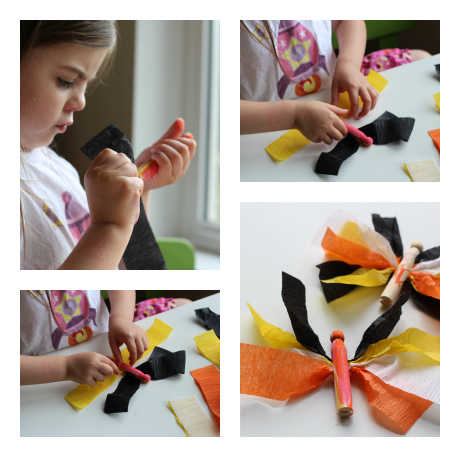 monarch butterfly craft for kindergarten