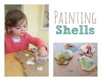 shell crafts for kids