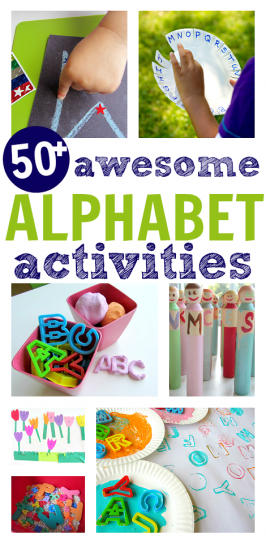 alphabet activities for preschool