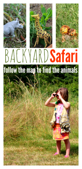 Backyard Safari and Map Activity